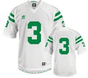 Men Notre Dame Fighting Irish #3 Joe Montana White Adidas Stitch Jersey
