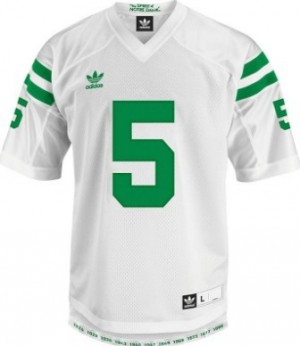 Men Notre Dame Fighting Irish #5 Manti Te'o White Adidas Stitch Jersey