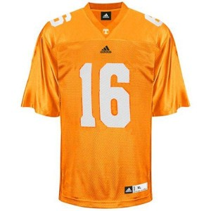 Tennessee Volunteers Peyton Manning #16 Orange Men Stitch Jersey Adidas