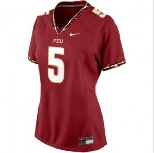 Nike Florida State Seminoles #5 Jameis Winston Womens Jersey - Red