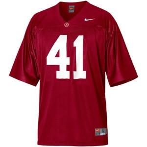 Nike Alabama Crimson Tide #41 Courtney Upshaw Youth(Kids) Stitch Jersey - Red