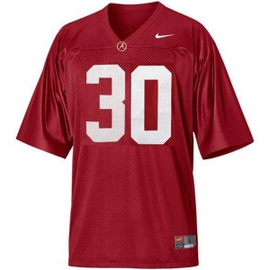 Nike Alabama Crimson Tide #30 Dont'a Hightower Men Stitch Jersey - Red