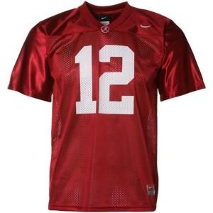 Nike Alabama Crimson Tide #12 Joe Namath Men Stitch Jersey - Red