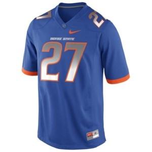 Boise State Broncos Jay Ajayi #27 Blue Men Stitch Jersey Nike