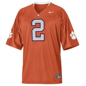 Clemson Tigers Sammy Watkins #2 Orange Men Stitch Jersey Nike