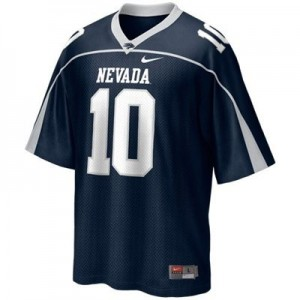 Nevada Wolf Pack Colin Kaepernick #10 Blue Men Stitch Jersey Nike