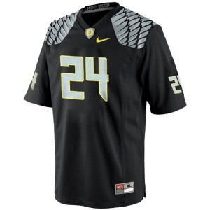Oregon Ducks Kenjon Barner #24 Black Youth(Kids) Jersey Nike