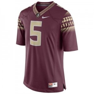 Nike Florida State Seminoles (FSU) #5 Jameis Winston 2014 Men Stitch Jersey - Red