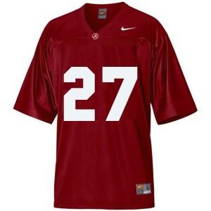 Nike Alabama Crimson Tide #27 Derrick Henry Men Stitch Jersey - Red