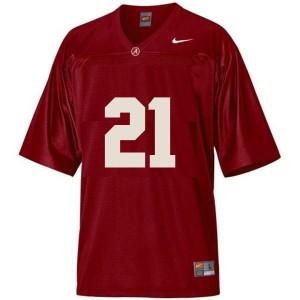 Nike Alabama Crimson Tide #21 Dre Kirkpatrick Men Stitch Jersey - Red