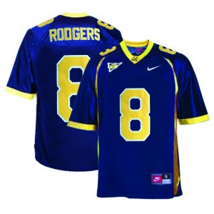 California Golden Bears Aaron Rodgers #8 Blue Men Stitch Jersey Nike