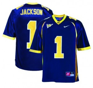California Golden Bears DeSean Jackson #1 Blue Men Stitch Jersey Nike