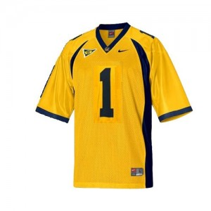 California Golden Bears DeSean Jackson #1 Gold Men Stitch Jersey Nike