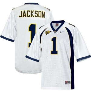 Men California Golden Bears #1 DeSean Jackson White Nike Stitch Jersey