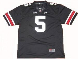 Ohio State Buckeyes Braxton Miller #5 Black Men Stitch Jersey Nike