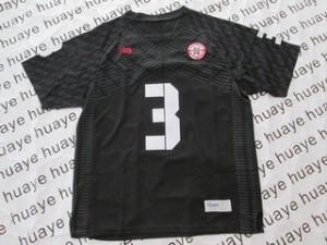 Nebraska Cornhuskers Taylor Martinez #3 Black Men Stitch Jersey Adidas