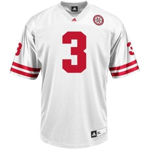 Youth(Kids) Nebraska Cornhuskers #3 Taylor Martinez White Adidas Jersey