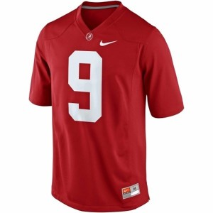 Nike Alabama Crimson Tide #9 Amari Cooper Men Limited Stitch Jersey - Red