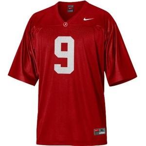 Nike Alabama Crimson Tide #9 Amari Cooper Men Stitch Jersey - Red