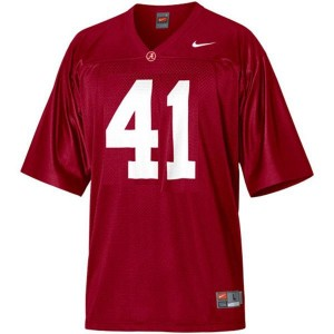 Nike Alabama Crimson Tide #41 Courtney Upshaw Men Stitch Jersey - Red