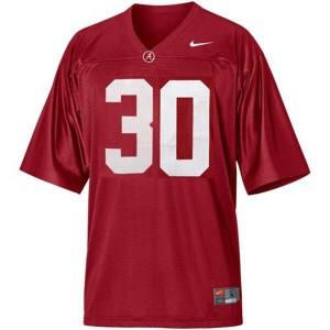 Nike Alabama Crimson Tide #30 Dont'a Hightower Men Stitch Jersey - Red