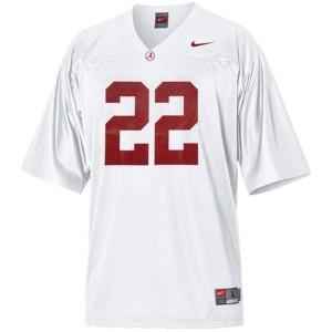 Youth(Kids) Alabama Crimson Tide #22 Mark Ingram White Nike Jersey