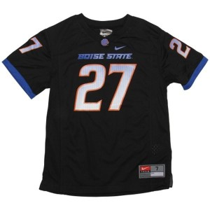 Boise State Broncos Jay Ajayi #27 Black Men Stitch Jersey Nike