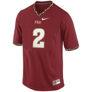 Nike Florida State Seminoles (FSU) #2 Deion Sanders Men Stitch Jersey - Red