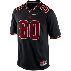 Florida State Seminoles (FSU) Rashad Greene #80 Black Men Stitch Jersey Nike