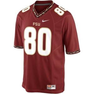 Nike Florida State Seminoles (FSU) #80 Rashad Greene Men Stitch Jersey - Red