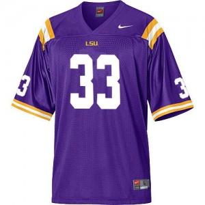 Nike LSU Tigers #33 Odell Beckham Youth(Kids) Jersey - Purple