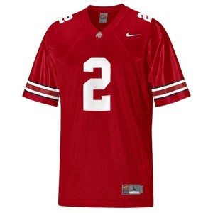 Nike Ohio State Buckeyes #2 Cris Carter Men Stitch Jersey - Red