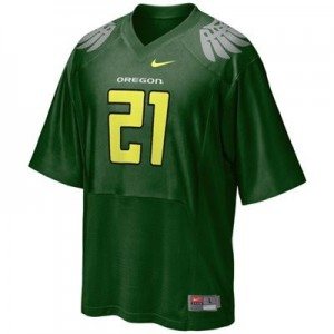 Oregon Ducks LaMichael James #21 Green Youth(Kids) Jersey Nike