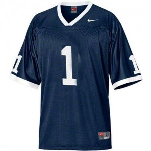 Penn State Nittany Lions Joe Paterno #1 Blue Men Stitch Jersey Nike
