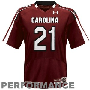 Under Armour South Carolina Gamecocks #21 Marcus Lattimore Youth(Kids) Jersey - Red