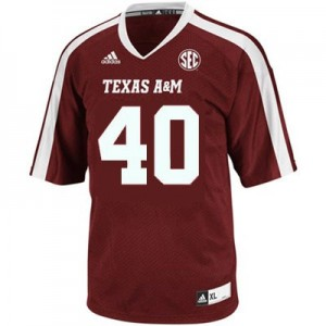 Adidas Texas A&M Aggies #40 Von Miller Youth(Kids) Jersey - Red