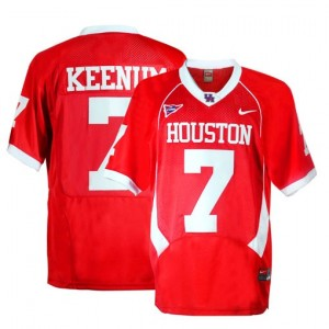 Nike Houston Cougars #7 Case Keenum Youth(Kids) Jersey - Red