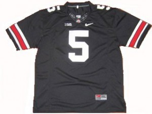 Ohio State Buckeyes Braxton Miller #5 Black Youth(Kids) Jersey Nike