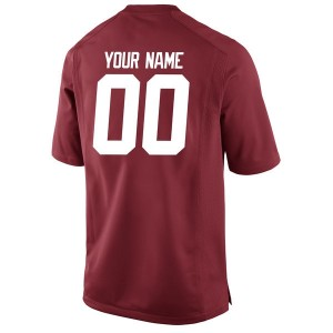 Nike Alabama Crimson Tide #00 A.J McCarron Custom Stitch Jersey - Red