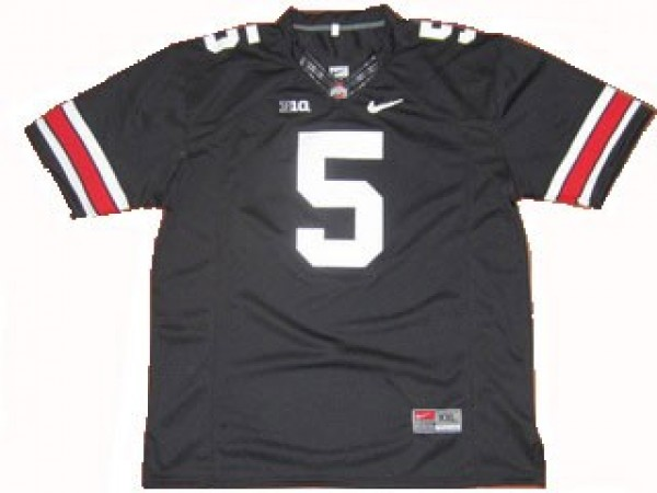 100% authentic d8db3 20be3 Ohio State Buckeyes Braxton Miller #5 Black Youth(Kids) Jersey Nike